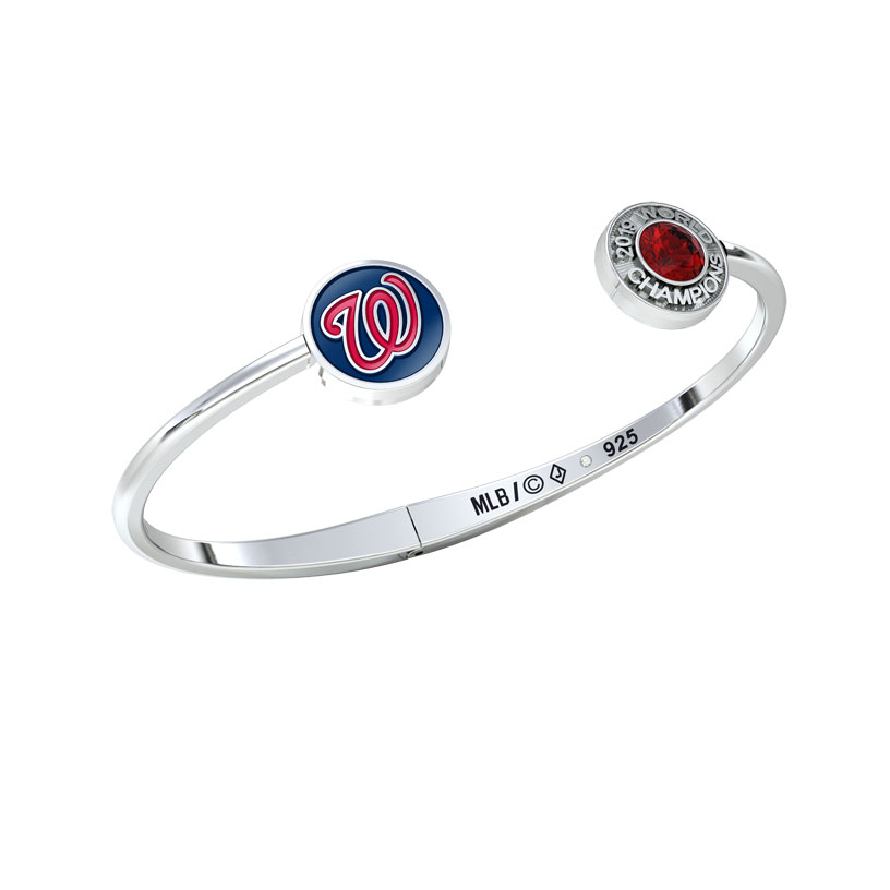 Washington Nationals Championship Hinge Bracelet