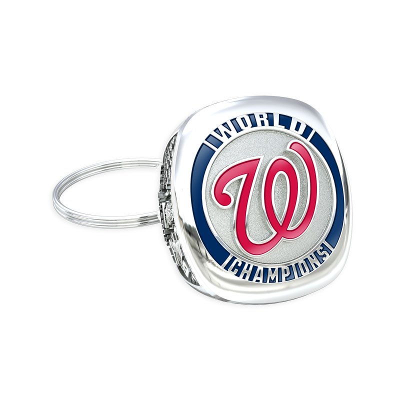 Washington Nationals Championship Key Ring