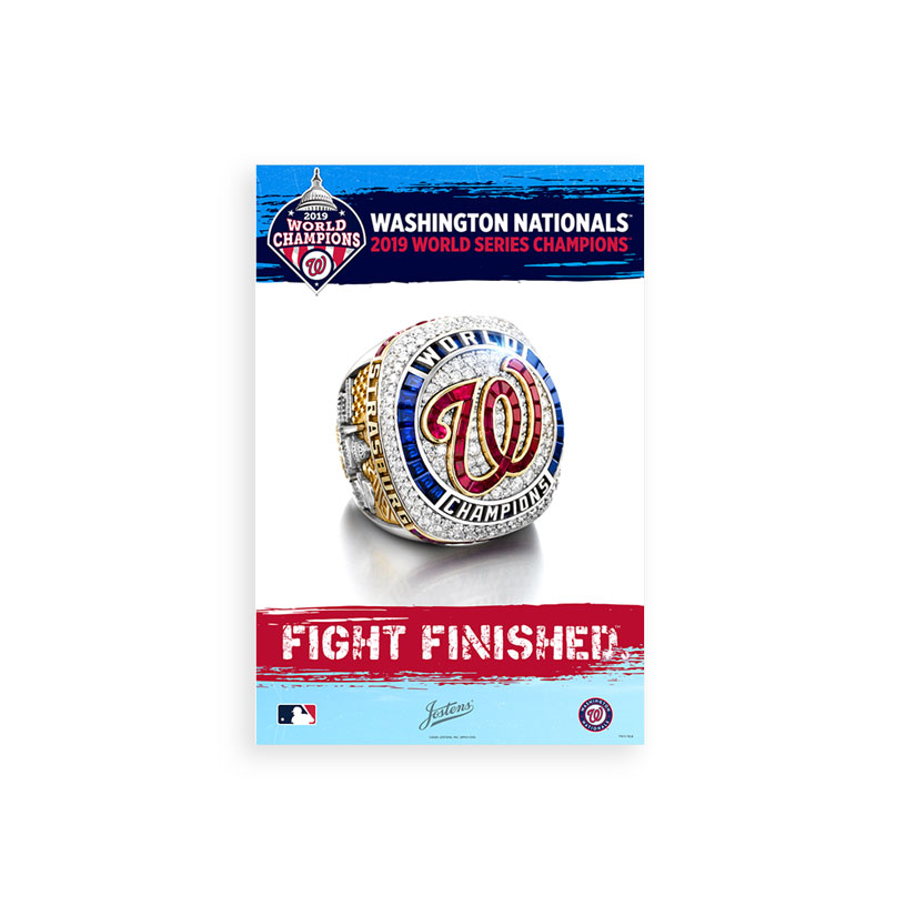 Washington Nationals Championship Poster