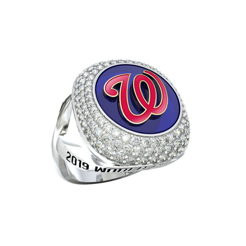 Washington Nationals Elite Fashion Ring