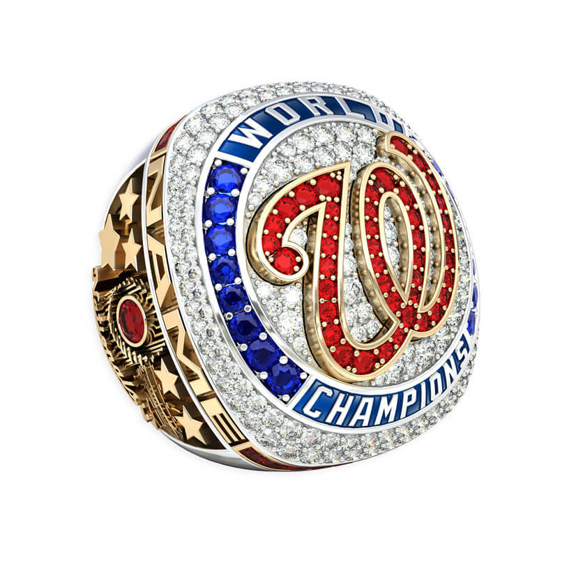 Washington Nationals Limited Edition Ring