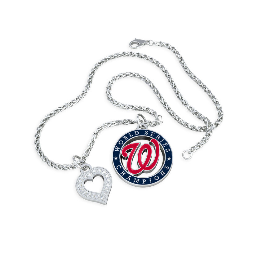 Washington Nationals, Nationals Charm Necklace