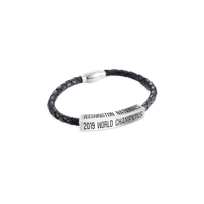Washington Nationals, Nationals Leather Bracelet