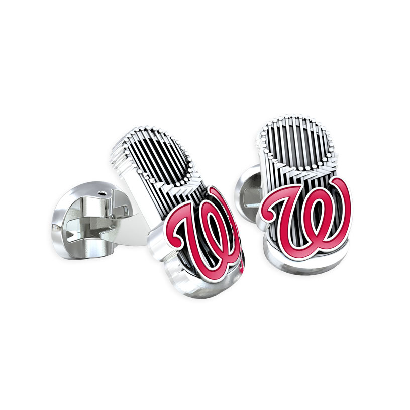 Washington Nationals World Series Cufflinks