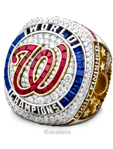 Washington Nationals Elite Ring champ view